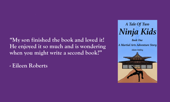 A Tale Of Two Ninja Kids: A Martial Arts Adventure Story is an ideal ninja book for children to teach the martial arts values of hard work, consistency and discipline, in the form of a fun adventure story for all the family to enjoy.
